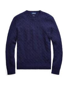 ラルフローレン メンズ Polo Ralph Lauren Cable-Knit Cashmere Sweater 長袖 カシミア セーター BRIGHT NAVY