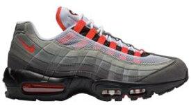 ナイキ メンズ スニーカー Nike Air Max 95 OG エアマックス 95 White/Solar Red/Granite/Dust