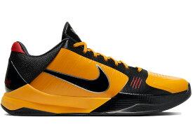 """ナイキ メンズ コービー5 Nike Kobe 5 Protro """"Bruce Lee"""" バッシュ DEL SOL/METALLIC SILVER-COMET RED-BLACK"""