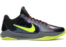 """ナイキ メンズ コービー5 Nike Kobe 5 Protro """"2K Gamer Exclusive"""" バッシュ BLACK/CYBER-DARK GREY"""