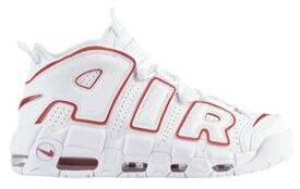 """ナイキ メンズ モアアップテンポ Nike Air More Uptempo '96 """"Renowned Rhythm"""" バッシュ White/Varsity Red モアテン 高額レア"""