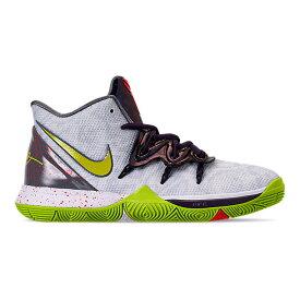 """ナイキ キッズ/レディース カイリー5 Nike Kyrie 5 V GS """"Mamba Mentality"""" バッシュ White/Cyber"""