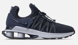 ナイキ メンズ スニーカー Nike Shox Gravity Casual Shoes ショックス グラヴィティー Obsidian/Midnight Navy/Wolf Grey