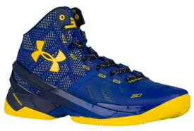 "アンダーアーマー メンズ カリー2 Under Armour Curry 2 ""Dub Nation"" バッシュ Cobalt Blue/Yellow Gold"