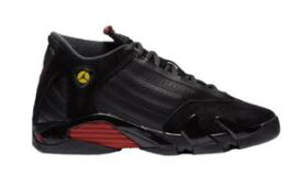 ジョーダン キッズ バッシュ Air Jordan Retro 14 XIV ミニバス Black/Varsity Red/Black
