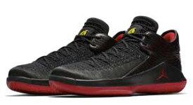 """ジョーダン32 メンズ Nike Air Jordan XXX2 32 Low """"Last Shot バッシュ Black/Gym Red/Tour Yellow ローカット 高額レア"""