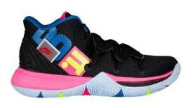 """ナイキ キッズ/レディース Nike Kyrie 5 V GS """"Just Do It"""" バッシュ Black/Volt/Hyper Pink カイリー5 ミニバス"""