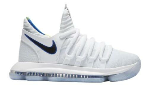 """Nike KD 10 X """"Numbers"""" キッズ/レディース White/Game Royal/Univ Gold ナイキ バッシュ Kevin Durant ケビン・デュラント"""