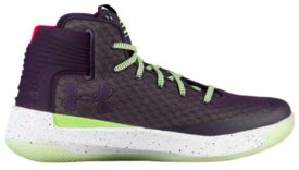 Under Armour Curry 3Zer0メンズ Imperial Purple/Lime Fizz/White アンダーアーマー バッシュ カリー3 zero ゼロ Stephen Curry ステフィン・カリー