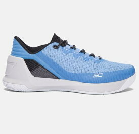"Under Armour Curry 3 Low ""UNC"" メンズ Carolina Blue/Glacier Gray アンダーアーマー カリー3 Stephen Curry ステフィン・カリー バッシュ"