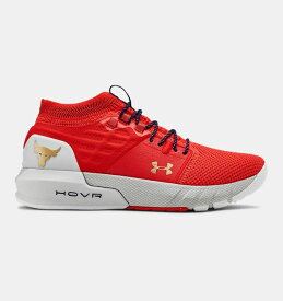 アンダーアーマー レディース シューズ Under Armour Project Rock 2 Women's Running Shoes トレーニングシューズ Blood Orange / Halo Gray