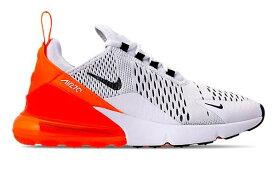 ナイキ レディース エアマックス270 Nike Air Max 270 ランニングシューズ White/Black/Total Orange スニーカー