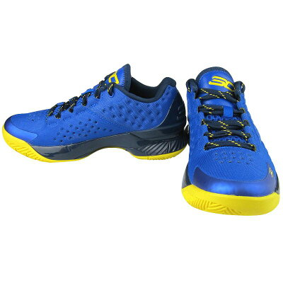 "UnderArmourCurryOneLow""Warriors""メンズRoyal/Academy-Taxiアンダーアーマーカリーウォリアーズバッシュ"
