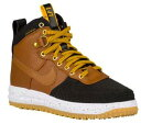 NIKE LUNAR FORCE 1 DUCKBOOTSメンズ Black/Gold Dart/White/Light British Tan ナイキ ルナフォース1 ダックブーツ