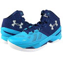 Under Armour Curry 2 'FATHER TO SON'メンズ Pacific/Europa Purple/White アンダーアーマー バッシ...