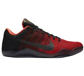 "ナイキ メンズ コービー バスケットボール シューズ Nike Kobe XI 11 Elite Low ""Achilles Heel"" バッシュ Black/Metallic Gold/Anthracite/Bright Crimson"