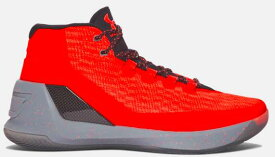 """Under Armour Curry 3 """"Red Hot Santa"""" メンズ White/Metallic Silver アンダーアーマー カリー3 Stephen Curry ステフィン・カリー バッシュ"""