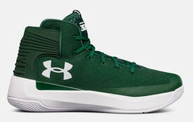 Under Armour Curry 3Zer0メンズ Forest Green / White アンダーアーマー バッシュ カリー3 ゼロ Stephen Curry ステフィン・カリー