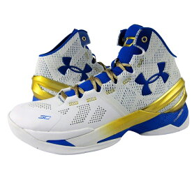 """Under Armour Curry 2 """"Gold Rings""""メンズ White/True Royal アンダーアーマー Stephen Curry ステフィン・カリー バッシュ"""