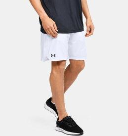 アンダーアーマー メンズ ハーフパンツ Under Armour Locker 9 Pocketed Shorts トレーニングウェア White