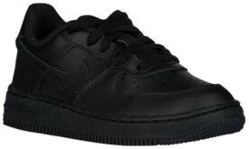 即納 ナイキ キッズ/ジュニア スニーカー Nike Air Force 1 Low Preschool PS エアフォース Black/Black