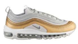 ナイキ スニーカー エアマックス Nike Air Max 97 SE レディース/ウーマン Vast Grey/Metallic Silver/Metallic Gold/Whit