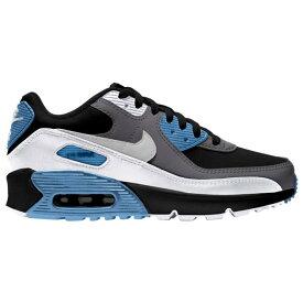 ナイキ キッズ/レディース エアマックス90 Nike Air Max 90 スニーカー Black/Gray/Blue