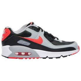 ナイキ キッズ/レディース エアマックス90 Nike Air Max 90 スニーカー Black/Radiant Red/White