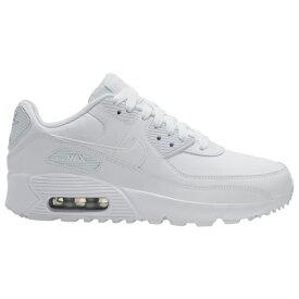 ナイキ キッズ/レディース エアマックス90 Nike Air Max 90 スニーカー White/White/Met Silver
