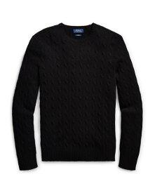 ラルフローレン メンズ Polo Ralph Lauren Cable-Knit Cashmere Sweater 長袖 カシミア セーター POLO BLACK