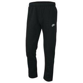 ナイキ メンズ スウェットパンツ Nike Club Open Hem Pants ボトムス Black/White