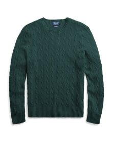 ラルフローレン メンズ Polo Ralph Lauren Cable-Knit Cashmere Sweater 長袖 カシミア セーター COLLEGE GREEN