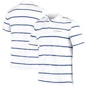 """ラルフローレン メンズ """"THE PLAYERS"""" RLX Ralph Lauren Lightweight Tech Pique Polo ポロシャツ 半袖 ゴルフ White/Royal"""