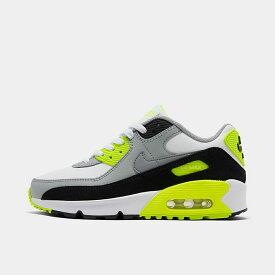 ナイキ キッズ/レディース エアマックス90 Nike Air Max 90 スニーカー White/Particle Grey/Light Smoke Grey
