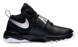 ナイキ キッズ/レディース バッシュ Nike Hustle D 8 バスケ シューズ Black/Met Silver/White