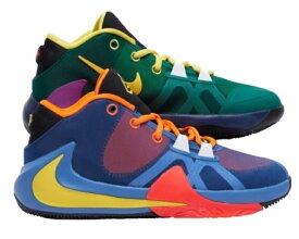 """ナイキ キッズ/レディース ズーム フリーク Nike Zoom Freak 1 GS """"What The"""" バッシュ ミニバス Total Orange/Dynamic Yellow-Black"""