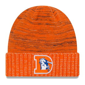 "ニューエラ メンズ ニット帽 ""Denver Broncos"" New Era NFL 2017 Color Rush Knit Hat 帽子 Orange"