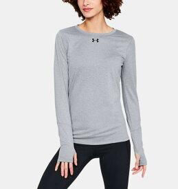 アンダーアーマー レディース ロンT Under Armour Locker 2.0 Long Sleeve Shirt Tシャツ 長袖 True Gray Heather