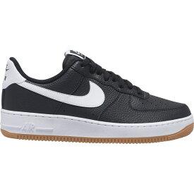 ナイキ メンズ エア フォース1 Nike Air Force 1 Low スニーカー Black/White/Wolf Grey/Gum Medium Brown