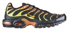 ナイキ メンズ スニーカー Nike Air Max Plus エアマックス プラス Black/Volt/Total Orange/Hot Punch