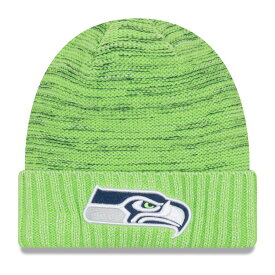 "ニューエラ メンズ ニット帽 ""Seattle Seahawks"" New Era NFL 2017 Color Rush Knit Hat 帽子 Neon Green"