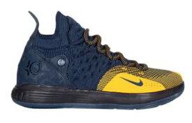 """ナイキ ボーイズ/キッズ/レディース バッシュ Nike KD 11 XI """"Chinese Zodiac"""" ケビン デュラント College Navy/University Gold"""