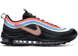 ナイキ メンズ エアマックス97 Nike Air Max 97 Neon Seoul スニーカー BLACK/REFLECT SILVER-BLUE