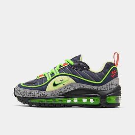 ナイキ キッズ/レディース エアマックス98 Nike Air Max 98 GS スニーカー Gridiron/Black/Obsidian