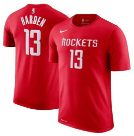 "ナイキ キッズ Tシャツ ""James Harden"" Houston Rockets Nike Youth Name & Number T-Shirt - Red"