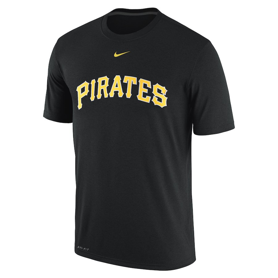 ナイキ メンズ MLB Pittsburgh Pirates Nike Legend Logo Performance T-Shirt Tシャツ 半袖 ドライフィット Black
