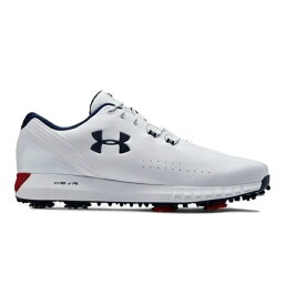 Wide (E) アンダーアーマー メンズ Under Armour HOVR Drive Golf Shoes ゴルフシューズ White/Red ワイド 幅広