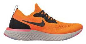 ナイキ レディース/ウーマン ランニングシューズ Nike Epic React Flyknit スニーカー リアクト フライニット Copper Flash/Black/Flash Crimson/Moon Particle