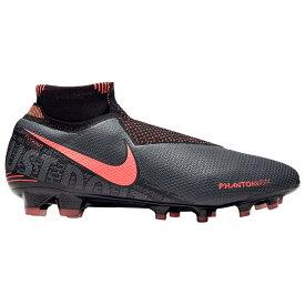 ナイキ メンズ サッカーシューズ Nike Phantom Vision Elite DF FG スパイク Dark Grey/Bright Mango/Black