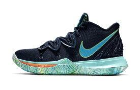 """ナイキ メンズ カイリー5 Nike Kyrie 5 IV """"UFO"""" バッシュ Obsidian/Light Current Blue/Scream Green"""